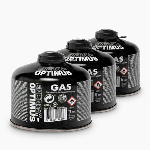 optimus gaskartuschen