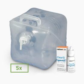 Wasser Lager Paket 100L